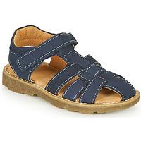 Chaussures Garçon Sandales et Nu-pieds André TURTLE Marine