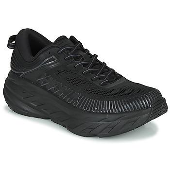 Chaussures Homme Baskets basses Hoka one one BONDI 7 Noir