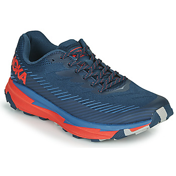 Chaussures Homme Baskets basses Hoka one one TORRENT 2 Bleu / Rouge