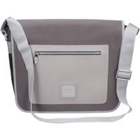 Sacs Femme Besaces Alviero Martini ALV beige textile gris cuir BP995 Beige