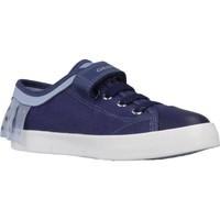 Chaussures Fille Baskets basses Geox JR CIAK GIRL Bleu