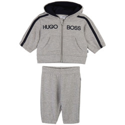Vêtements Enfant Ensembles de survêtement Hugo Boss Ensemble Jogging  Gris Gris
