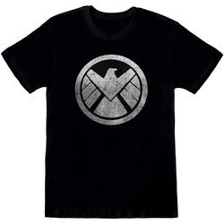 Vêtements Homme T-shirts manches courtes Avengers  Noir