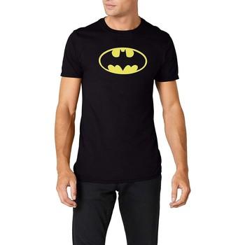 Vêtements T-shirts manches courtes Dessins Animés  Noir