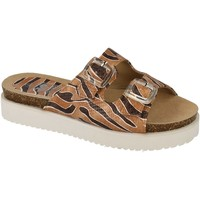 Chaussures Femme Mules Down To Earth  Marron