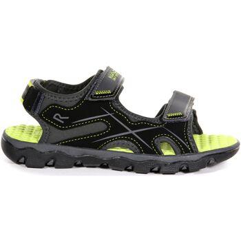 Chaussures Enfant Sandales sport Regatta  Gris/vert clair