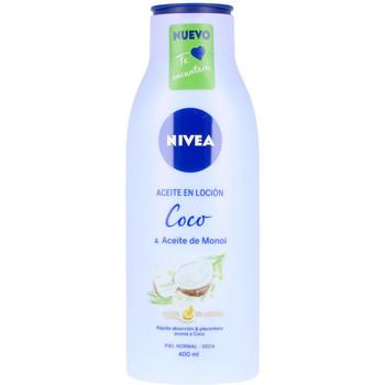 Beauté Hydratants & nourrissants Nivea Aceite En Locion Coco & Aceite De Monoi  400 ml