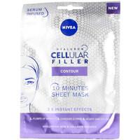 Beauté Femme Masques & gommages Nivea Hyaluron Cellular Filler Contour Masque Facial