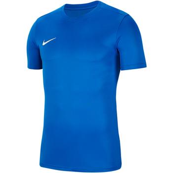 Vêtements Homme T-shirts manches courtes Nike Dry Park VII SS Jersey Blau