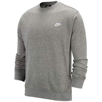 Vêtements Homme Sweats Nike Club Crew FT Gris