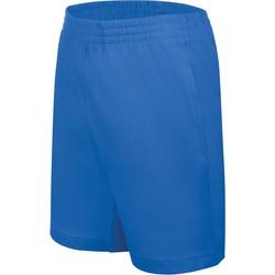 Vêtements Enfant Shorts / Bermudas Proact Short enfant Jersey  Sport bleu marine