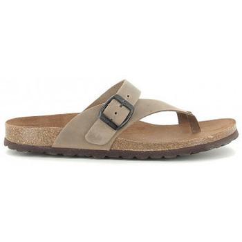 Chaussures Femme Sandales et Nu-pieds Interbios 7119 taupe Beige