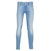 Vêtements Homme Jeans slim Jack & Jones JJILIAM Bleu clair