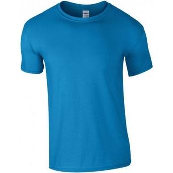 Vêtements Homme T-shirts manches courtes Gildan Soft Style Bleu roi
