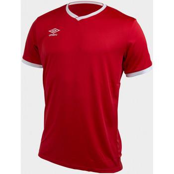 Vêtements Homme T-shirts manches courtes Umbro T-shirt Teamwear Homme ROUGE