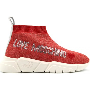 Chaussures Femme Baskets montantes Love Moschino JA15093G1AIR0500 Rosso