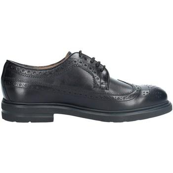 Chaussures Homme Derbies Antica Cuoieria 20262 DERBY homme NOIR NOIR