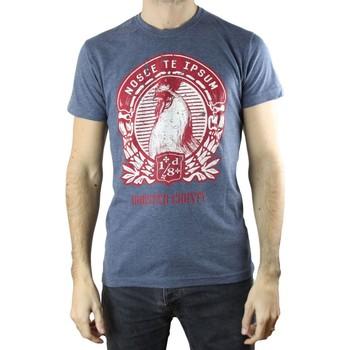 Vêtements Homme T-shirts manches courtes Solid T-Shirt  Sian H Bleu Bleu