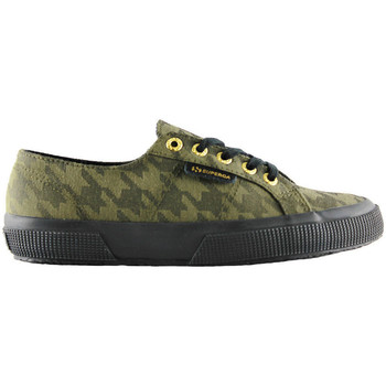 Chaussures Baskets basses Superga 2750-cotupieddepoule pdepoule militar Vert