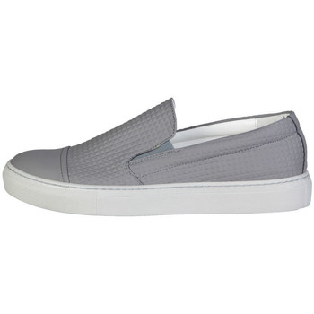 Chaussures Homme Slip ons Made In Italia - lamberto Gris