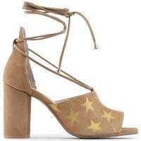 Chaussures Femme Sandales et Nu-pieds Made In Italia - simona Marron