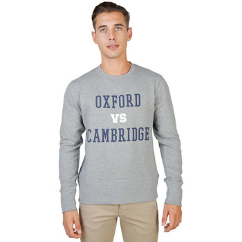 Vêtements Homme Sweats Oxford University - oxford-fleece-crewneck Gris