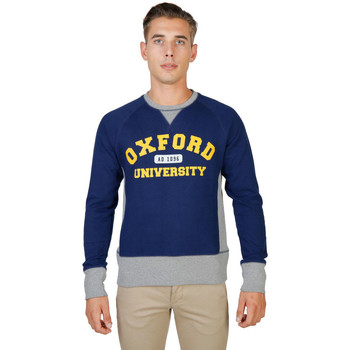Vêtements Homme Sweats Oxford University - oxford-fleece-raglan Bleu