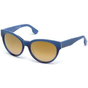 Montres & Bijoux Lunettes de soleil Diesel - dl0124 Bleu