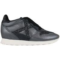 Chaussures Femme Baskets basses Munich cloud 8360019 Gris