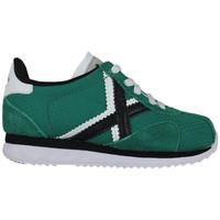 Chaussures Enfant Baskets basses Munich mini sapporo 8430051 Vert