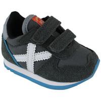 Chaussures Baskets mode Munich baby massana vco 8820349 Gris