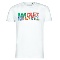 Vêtements Homme T-shirts manches courtes Casual Attitude MARVEL HERO LOGO Blanc