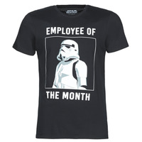 Vêtements Homme T-shirts manches courtes Yurban STORMTROOPER OF THE MONTH Noir