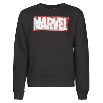 Vêtements Homme Sweats Yurban MARVEL MAGAZINE CREW Noir
