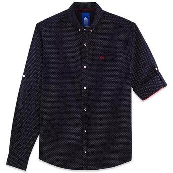 Vêtements Homme Chemises manches longues TBS MERMICHA bleu