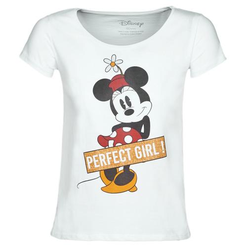 Vêtements Femme T-shirts manches courtes Moony Mood MINNIE PERFECT GIRL Blanc