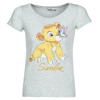 Vêtements Femme T-shirts manches courtes Yurban THE LION KING Gris