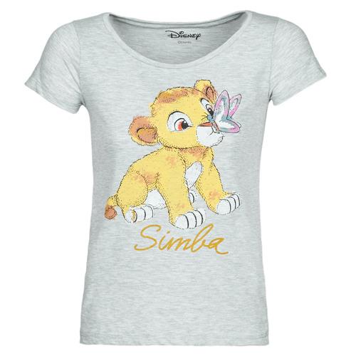 Vêtements Femme T-shirts manches courtes Moony Mood THE LION KING Gris