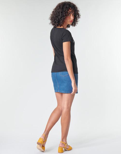 FRIENDS LOGO  Moony Mood  t-shirts manches courtes  femme  noir