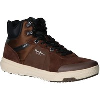 Chaussures Homme Baskets montantes Pepe jeans PMS30573 SLATE Marr?n