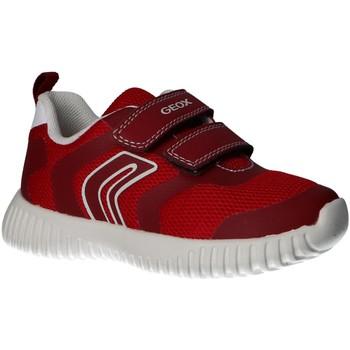 Chaussures Garçon Multisport Geox B922BA 01454 B WAVINESS Rojo