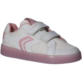 Chaussures Fille Multisport Geox J924HC 0GNBU J KOMMODOR Blanco