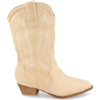 Chaussures Femme Bottes ville H&d 392 Beige