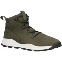 Chaussures Enfant Boots Timberland A287F BROOKLYN Verde