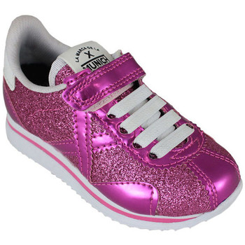 Chaussures Baskets basses Munich mini sapporo vco 8430070 Rose