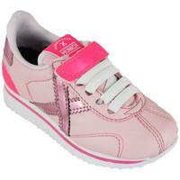 Chaussures Baskets basses Munich mini sapporo vco 8430073 Rose