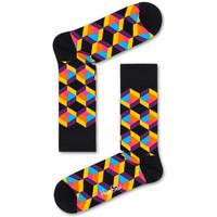 Accessoires textile Homme Chaussettes Happy Socks Optiq square sock Multicolore