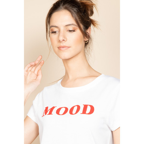 T-Shirt MOOD  Deeluxe  t-shirts manches courtes  femme  red