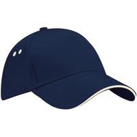 Accessoires textile Casquettes Beechfield Contrast Bleu marine/Gris