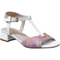 Chaussures Femme Sandales et Nu-pieds Brenda Zaro F3699 Blanc multi